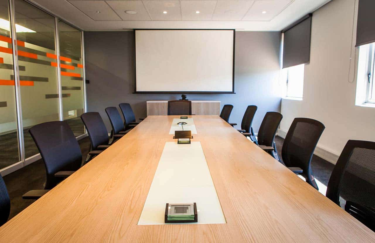 the workspace melrose arch boardroom